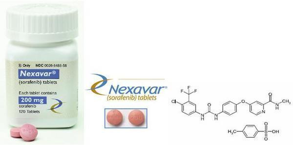 肝臓がんの化学療法とネクサバール(ソラフェニブ)
