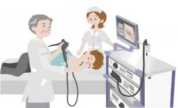食道がんの内視鏡治療