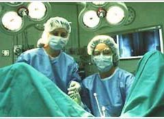 がんに放射線を直接当てる術中照射
