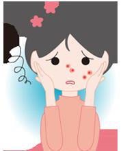 皮膚にでる抗がん剤の副作用