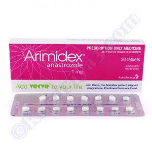 アナストロゾール(アリミデックス)の主な副作用と特徴