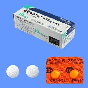 タモキシフェン(ノルバデックス)の主な副作用と特徴