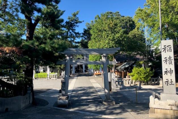 山梨県甲府市稲積神社