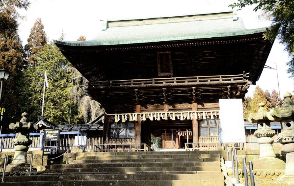 仙台東照宮の社殿