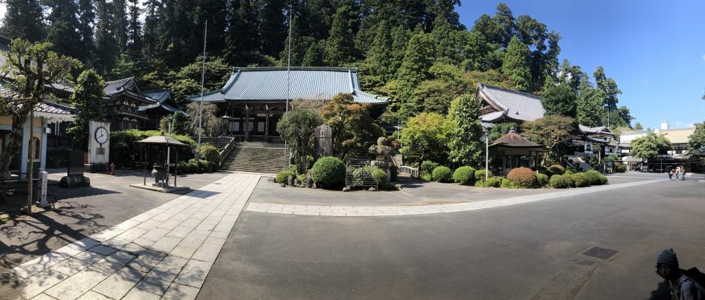 神奈川県南足柄市 大雄山 最乗寺パノラマ写真