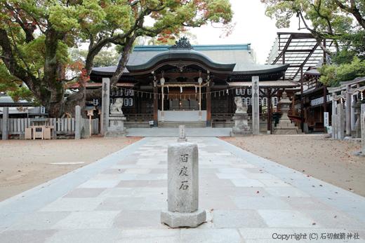 石切神社は「お百度参り」