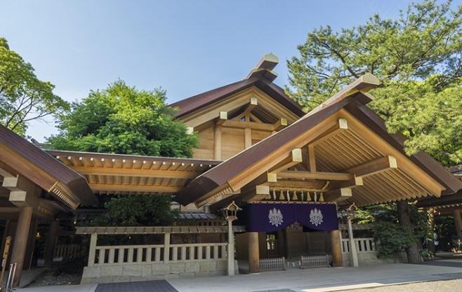 愛知県名古屋市 熱田神宮の社殿