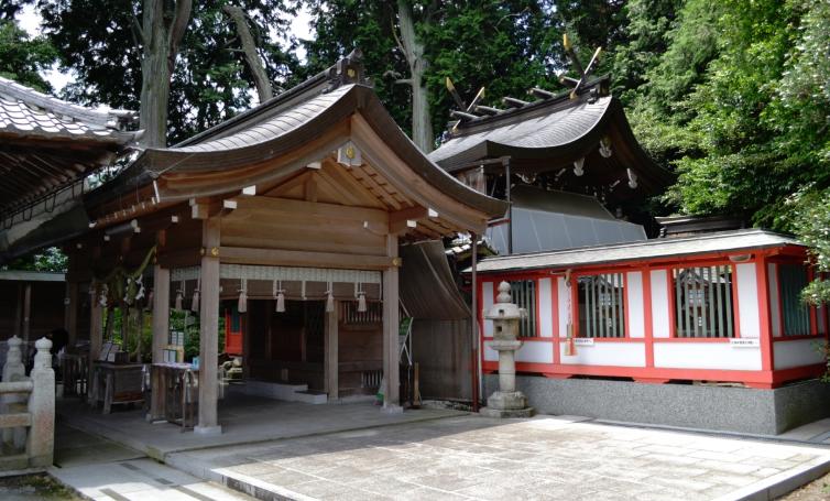 京都府亀岡市 稗田野神社の社殿