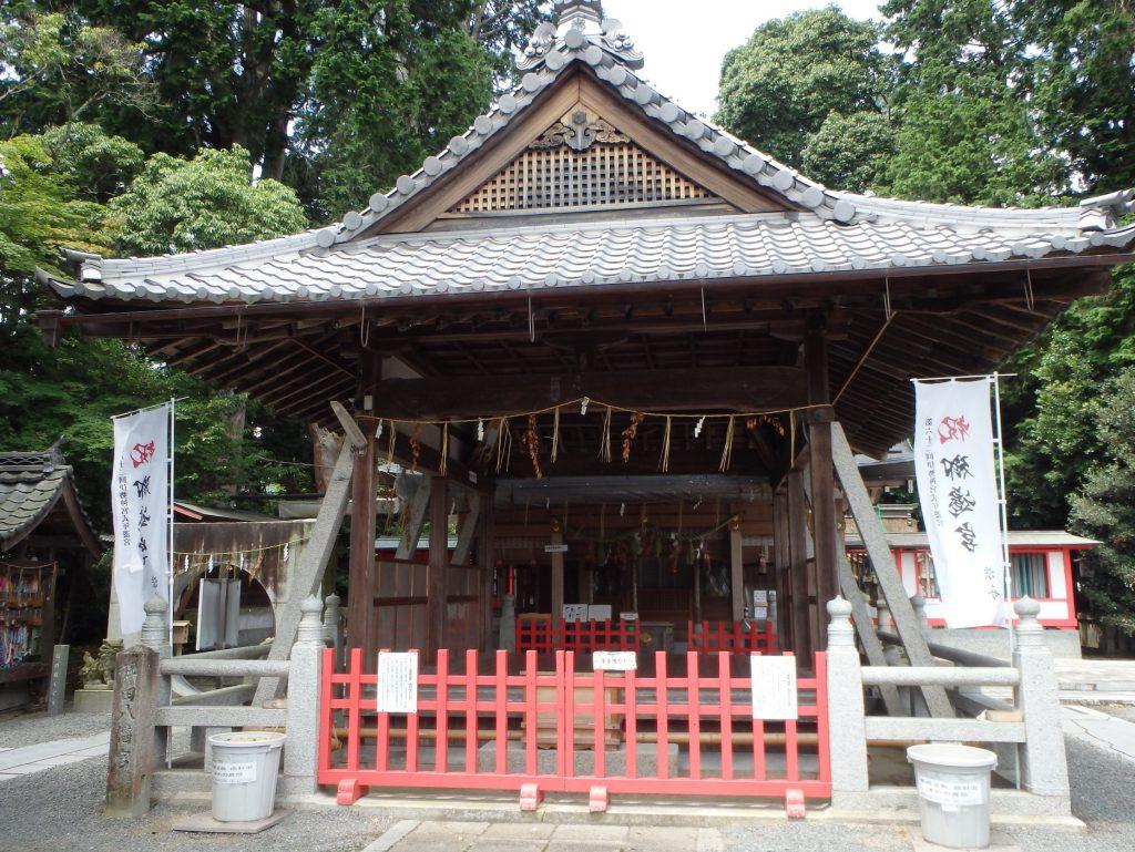 稗田野神社の癌封じの砂