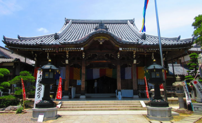 愛知県蒲郡市無量寺の外観