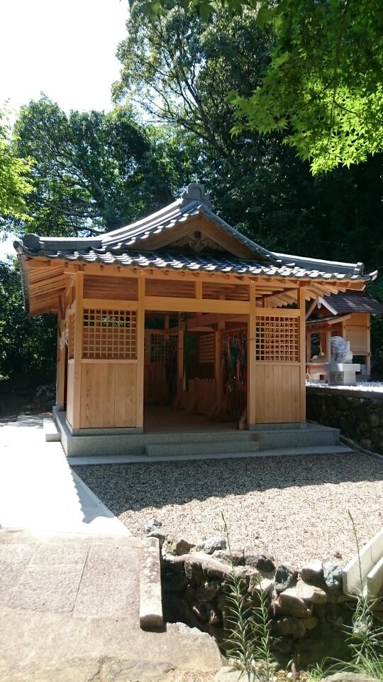 和歌山県有田市 宮原神社の太刀宮