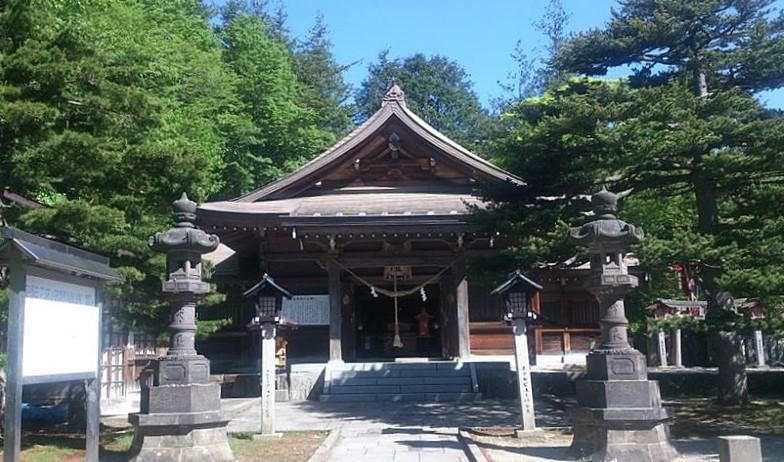 栃木県那須郡 那須温泉(なずゆぜん)神社