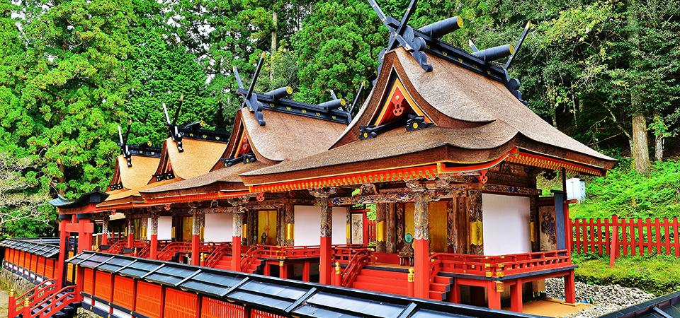 和歌山県伊都郡 丹生都比売神社の社殿