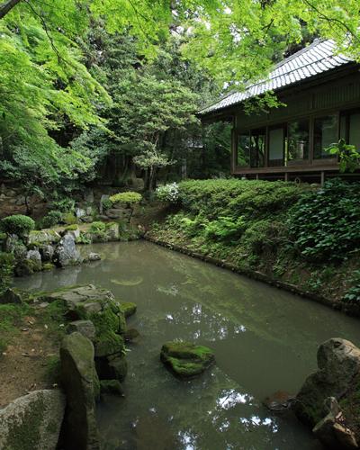 多賀神社の奥書院庭園