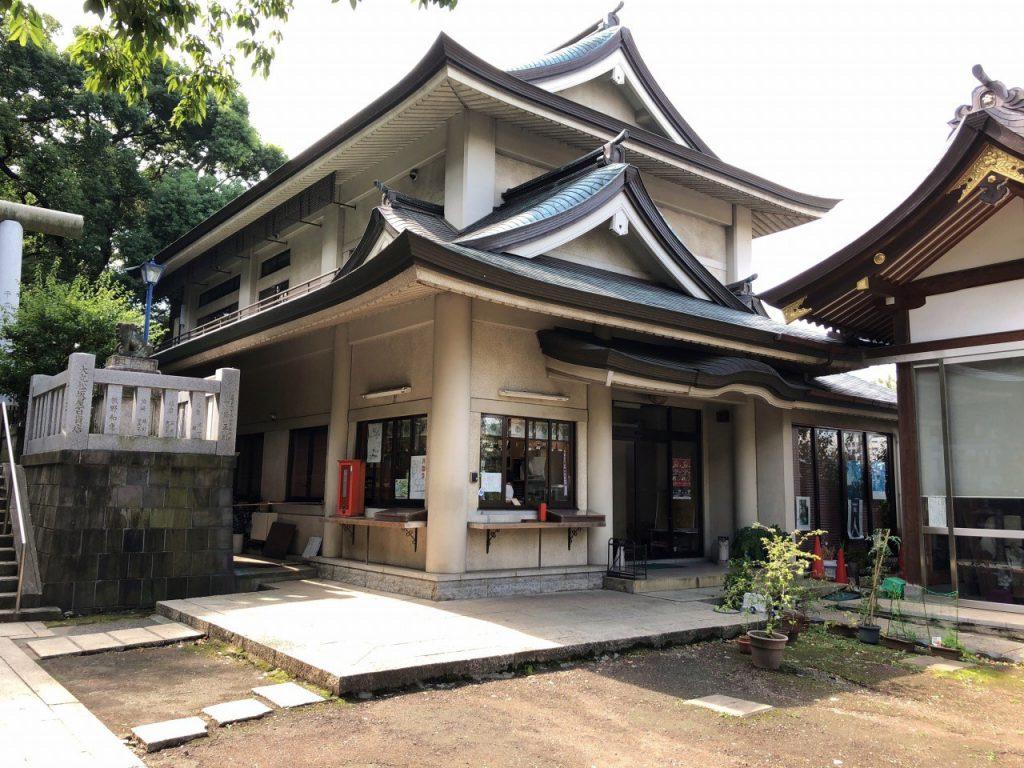 五条天神社の社務所