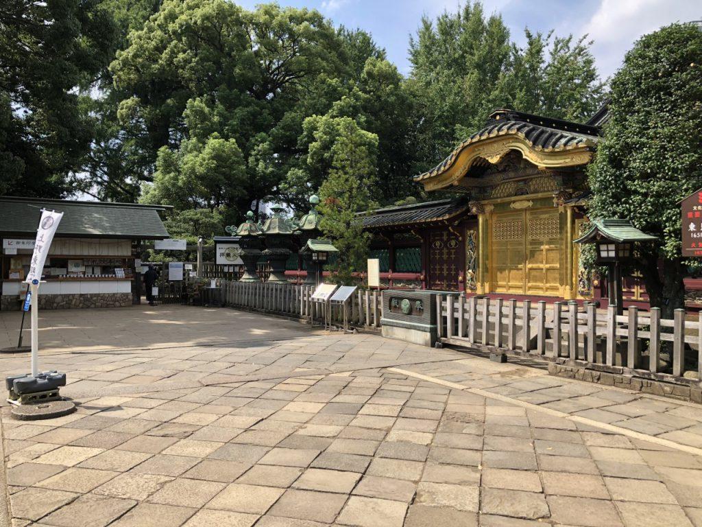 上野東照宮の授与所