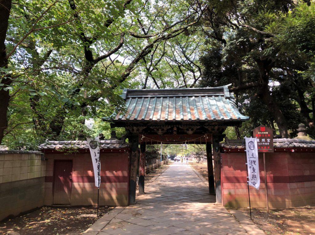 上野公園内 上野東照宮