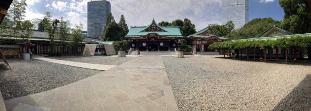 東京都千代田区 日枝神社のパノラマ写真
