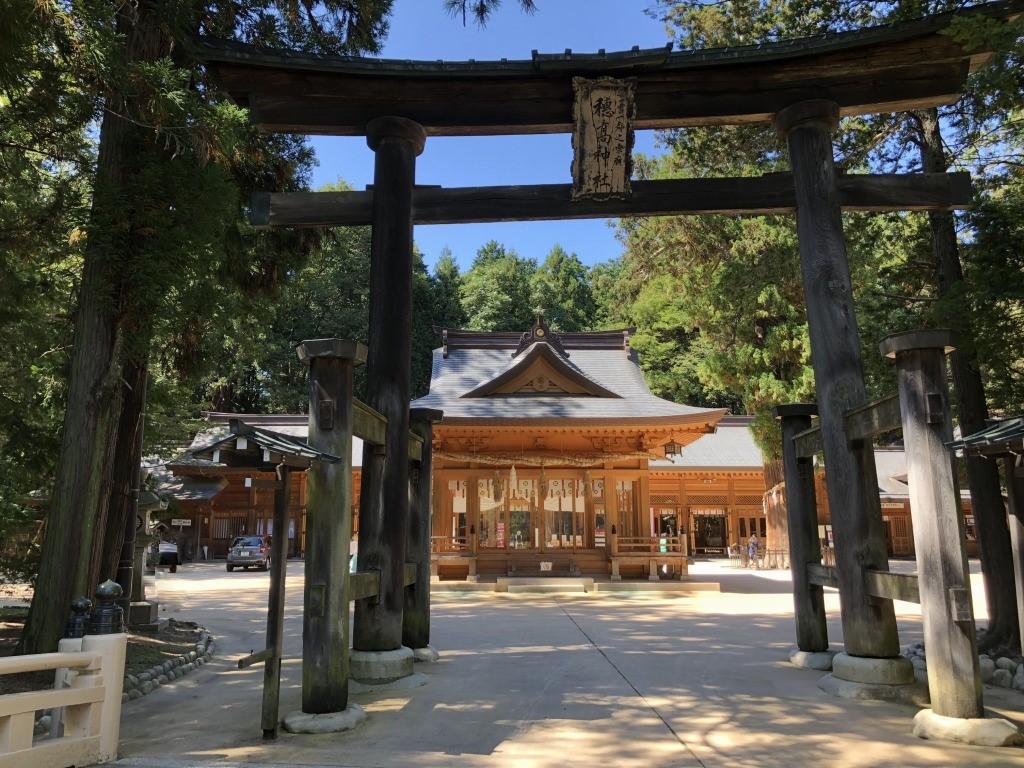 長野県安曇野市 穂高神社