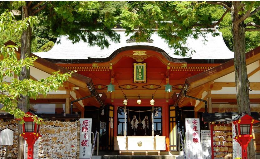 広島市東区 広島東照宮の拝殿