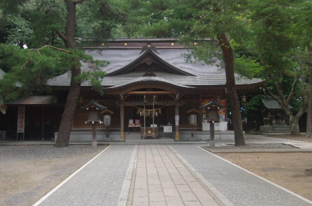 岩手県奥州市 駒形神社