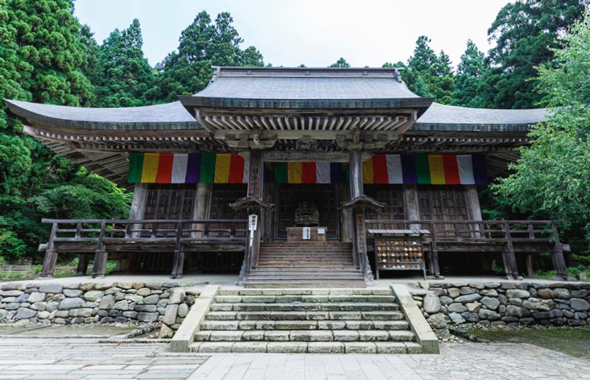 根本中堂(ねもとちゅうどう)立石寺全体の本堂