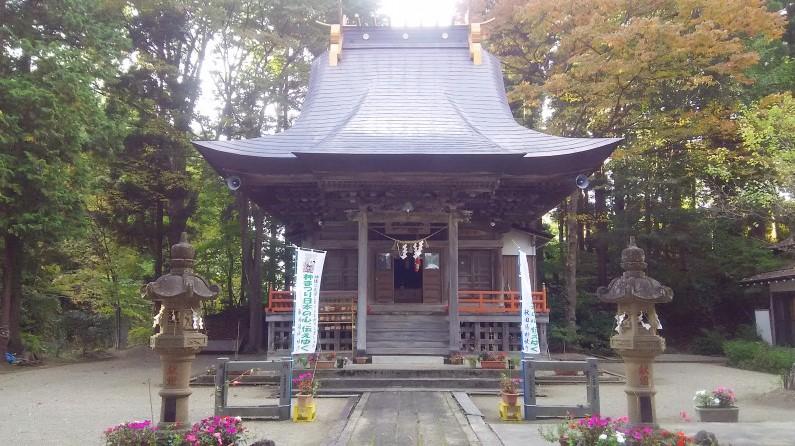 秋田県横手市 榮神社本殿
