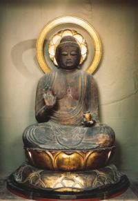 飛騨国分寺に祀られている薬師如来