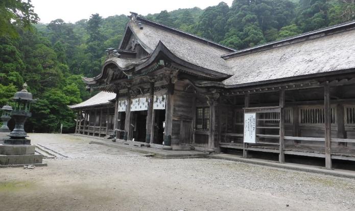 鳥取県米子市 大神山神社(奥宮)