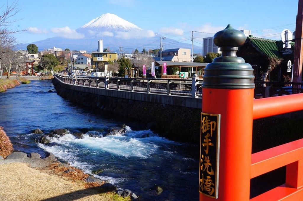静岡浅間神社からの富士山