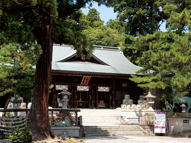 石川県加賀市 菅生石部神社の本殿