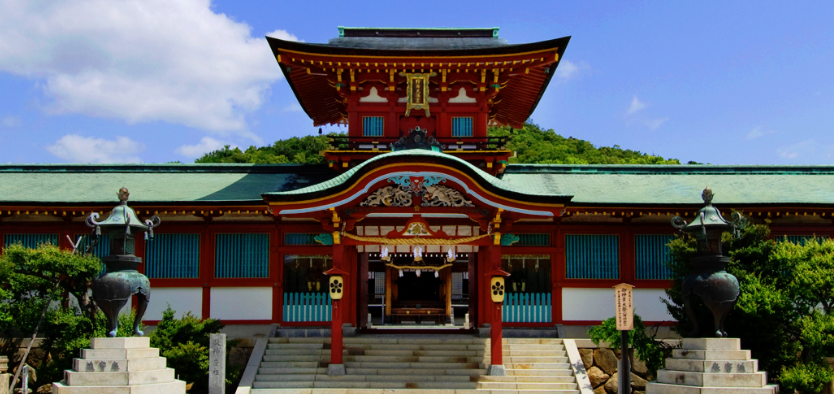 山口県癌封じ・病気平癒の神社、お寺