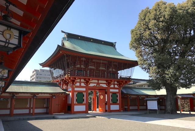 熊本県熊本市 藤崎八旛宮