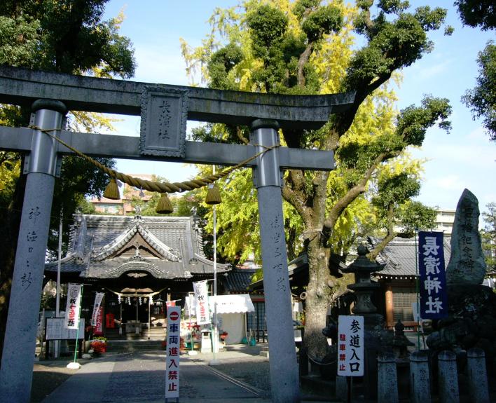 大分県大分市にある長浜神社
