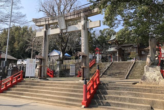 熊本県宇土市 西岡神宮(三宮大明神)