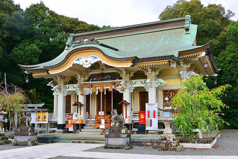 佐賀県武雄市 武雄神社の社殿